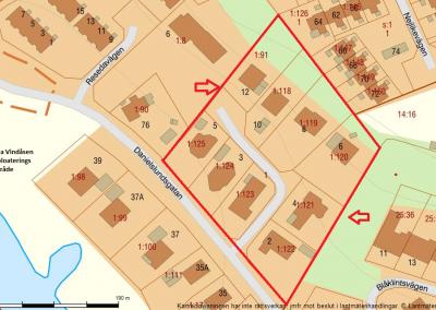 Danielslundsgatan 70 – Ängelholm Exploateringsområde mark. Villa Vindåsen